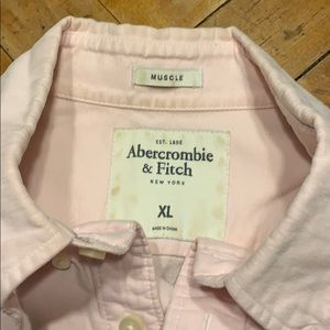 Abercrombie & Fitch Shirts - Men's A&F distressed oxford shirt